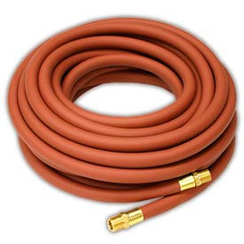 """Reelcraft S601017-50 3/8""""x50' 300 PSI Nylon Braided PVC Low Pressure Air/Water Hose"""