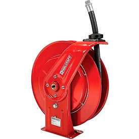 """Reelcraft F7925 OLP 3/4""""x25' 250 PSI Spring Retractable Fuel Delivery Hose Reel"""