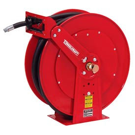"Reelcraft FD84050 OLP 1""x50' 250 PSI Spring Retractable Fuel Delivery Hose Reel"