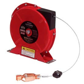 Reelcraft G 3050 Static Discharge/Grounding Reel, 50ft, w/100A Grounding Clamp on end