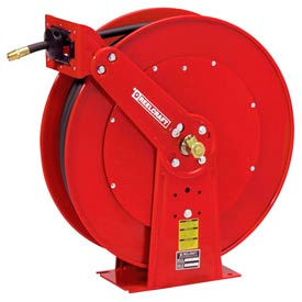 "Reelcraft PW81000 OHP 3/8""x100' 4500 PSI Spring Retractable Pressure Wash Hose Reel"