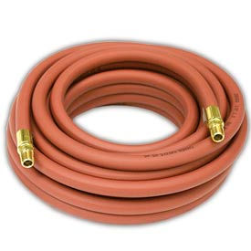 "Reelcraft S601013-35 3/8""x35' 300 PSI Nylon Braided PVC Low Pressure Air/Water Hose"