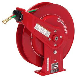 "Reelcraft TW7460 OLP 1/4""x 60' 200 PSI Spring Retractable Welding Cable Reel"