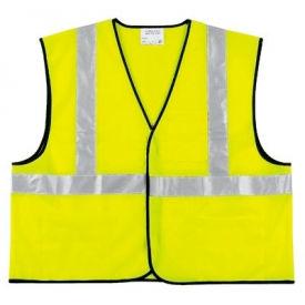 Class II Economy Safety Vests, RIVER CITY VCL2SLX3, Size 3XL