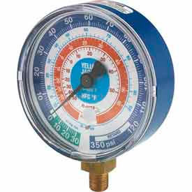 Blue Compound Gauge R-410A 3-1/8""