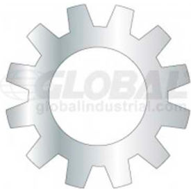 10mm Metric External Tooth Star Lock Washer Package of 50 by