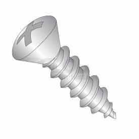 #6 X 1/2 Phillips Oval Head Sheet Metal Screw - 18-8 Stainless  Pkg Of 100