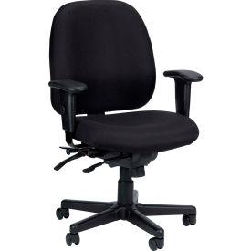 Eurotech 4X4 Task Chair - Black Fabric