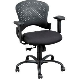 Eurotech Newport Task Chair - Black Fabric