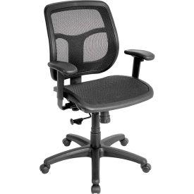 Eurotech Apollo Manager Chair - Black Mesh