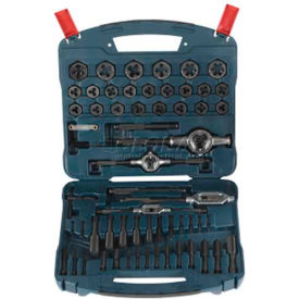 BOSCH Tap & Die Set, B44716, Black Oxide, 77-Piece by