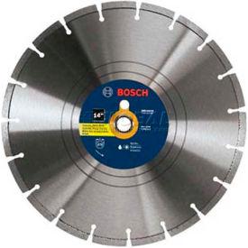 "BOSCH Premium Rim Concrete Diamond Saw Blade, DB1441H, 14"", 1""& 20mm..."