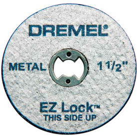 "Dremel® EZ456 EZ Lock 1 1/2"" Metal Wheel for Dremel® Rotary Tools"