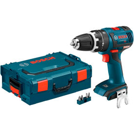 """BOSCH Brushless Compact Tough Hammer Drill Driver W/L-Boxx 2, 7.44""""Lx7.75""""H"""