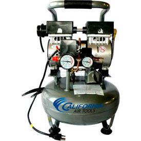 California Air Tools Portable Air Compressor CAT-3010, Ultra Quiet & Oil Free, 110V, 1HP, 3 Gal