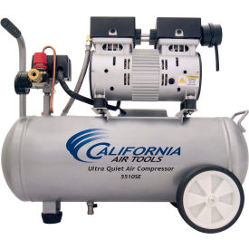 California Air Tools CAT-5510SE,1 HP,Portable Compressor,5.5 Gal,Horiz.,120 PSI,2.2 CFM,1-Phase 110V