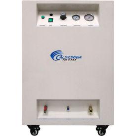 California Air Tools CAT-8010DSPC,1 HP,Portable Compressor,8 Gal,Vertical,115 PSI,3 CFM,1-Phase 110V