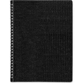 """Blueline® Poly Cvr Notebook B4181, 8-1/2"""" x 11"""", Black Cover, 80 Sheets/Pad, 1 Pad/Pack"""