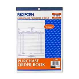 """Rediform® Purchase Order Book, 2-Part, Carbonless, 8-1/2"""" x 11"""", 50 Sets/Book"""