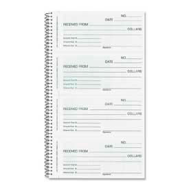 "Rediform® Money/Rent Receipt Book, 3-Part, Carbonless, 2-3/4"" x 5-1/2"", 120 Sets/Book"