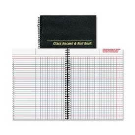 "Rediform Class Record and Roll Book, 8-1/2"" x 11"", Black Cover, 40 Sheets/Pad by"