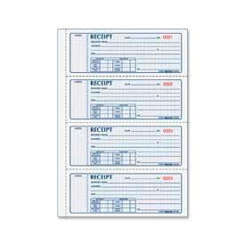 "Rediform® Money Receipt Book, 2-Part, Carbonless, 2-3/4"" x 7"", 400 Sets/Book"