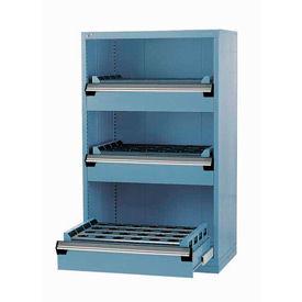 "3 Drawer Tool Storage Cabinet for HSK 63 - 30""Wx27""Dx60""H Everest Blue"