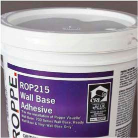 Cove Base Adhesive, Vinyl/TPR - 4 Gallon