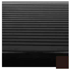 "Stair Tread Rubber Square Nose 60""L - Brown"