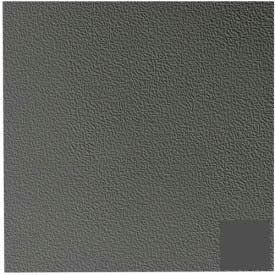 Rubber Tile Hammered Pattern 50cm - Black/Brown
