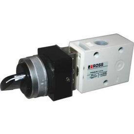 "ROSS® Pneumatic Selector Switch Valve 1223B1SLB, 1/8"" NPT"