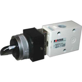 "ROSS® Pneumatic Selector Switch Valve D1223B2SLB, 1/4"" BSPP"