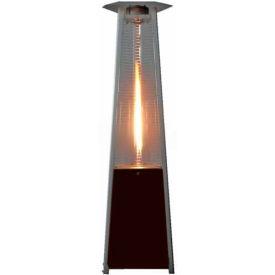Hiland Patio Heater Hlds01 Cgthg Propane 41000 Btu Quartz Gl Brown Silver