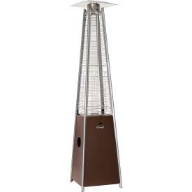 Hiland Patio Heater HLDS01-GTHG Propane 40000 BTU Quartz Glass Tube Bronze