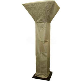 """Hiland Patio Heater Cover HVD-COMCV-S for Heavy Duty 91"""" PrimeGlo Models Silver"""