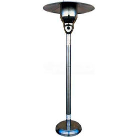 Hiland Patio Heater NG-SS Natural Gas 41000 BTU Stainless Steel