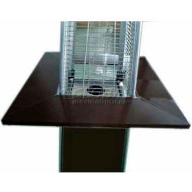 Hiland Bronze 4-Sided Table Attachment SGT-TABLE-HG for Glass Tube Heaters