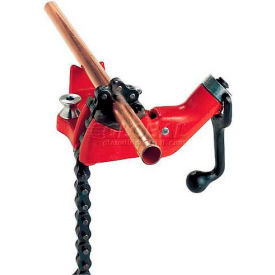 """RIDGID 40210 Model No. BC610 Top Screw Bench Chain Vise, 1/4""""-6"""" Pipe Capacity by"""