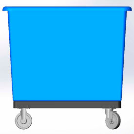 6 Bushel-Base W/O Insert- Blue color