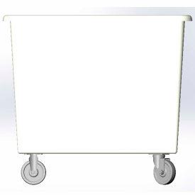 8 Bushel capacity-Mold in caster bracket only -White Color