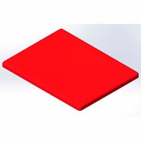 Lid for 10 Bushel cart-  Red color