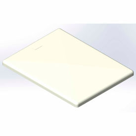 Lid for 18 Bushel cart-  White color