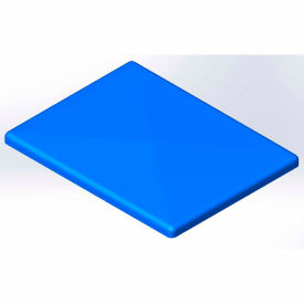 Lid for 20 Bushel cart- Blue color