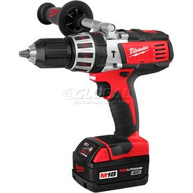 "Milwaukee® 2611-24, M18™ Cordless High Performance 1/2"" Hammer-Drill Driver"