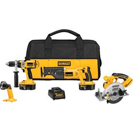 DeWALT® DCK440X XRP™ 18V Cordless 4-Tool Combo Kit