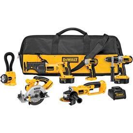 DeWALT® DCK655X XRP™ 18V Cordless 6-Tool Combo Kit