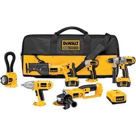 DeWALT® DCK675L 18V Cordless XRP™ Li-Ion 6-Tool Cordless Combo Kit