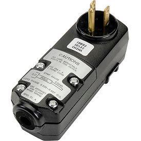 U.S. Wire 50022 Attachable GFCI Rainproof Plug, 15A