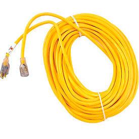 U.S. Wire 74100 100 Ft. 12/3 W/ Illuminated Plug