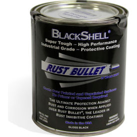 Rust Bullet BlackShell Rust Inhibitive Coating Pint Can 40/Case - BSP-C40